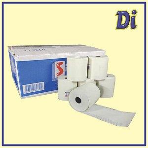 Bobina papel térmico 57mm x 40m - Cxa 30 unid