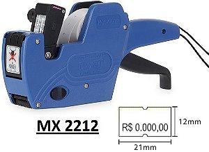Etiquetadora preço MX 2212 - 1 linha impressão