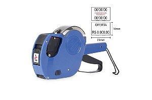 Etiquetadora preço validade fabricação MX 2316 NEW - 2 linhas impressão
