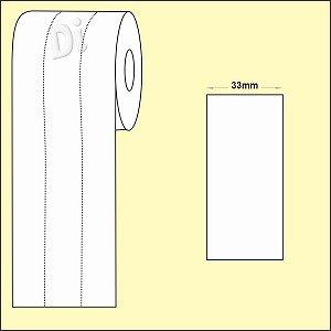 NYLON Resinado para composição etiqueta roupa 33mm