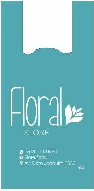 Floral Store - Sacola personalizada