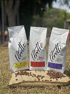 Café em Grãos Loretto Bourbon Amarelo, Premium e Gourmet (Kit)