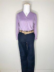 Blusa Decote V