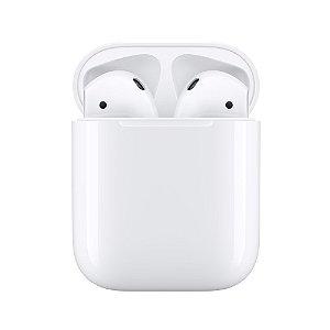 Fone de ouvido sem fio Airpods 2 com estojo de recarga - Apple