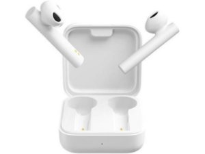 fone de ouvido bluetooth -  Sem Fio Xiaomi Mi True TWSEJ01JY com /Microfone - Branco