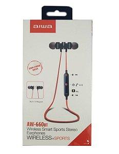 fone de ouvido bluetooth -  Aiwa AW-660BT