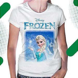 Camiseta Feminina com Estampa Personalizada em Sublimação