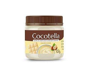 Cocotella Branco Creme de Avelã com Chocolate Branco 150g Cocodensado