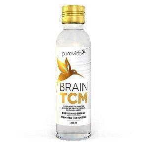 Brain TCM 300ml Pura Vida Energia Corpo e Mente Óleo de Coco