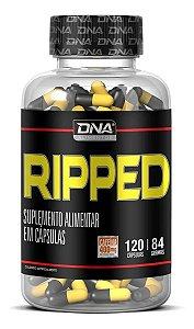 Termogênico Ripped 120 Cápsulas 400mg Cafeína DNA Alimentos