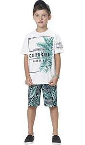 Conjunto Infantil Masculino  Califórnia