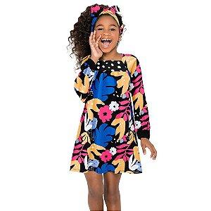 Vestido Infantil Nanai Meia Malha