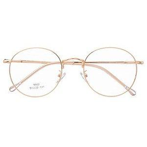 Armação De Óculos Para Grau Redondo