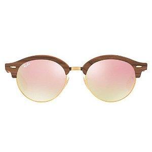 Óculos de Sol Ray-Ban ClubRound Laranja
