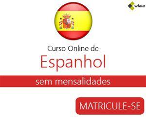 O Curso online de Espanhol