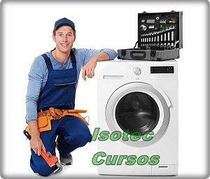 Curso Conserto de Lavadora de Roupas Em Vídeo Aulas 8 dvds