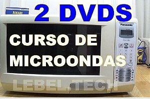 Curso Conserto De Forno Microondas 2 Dvds Vídeo Aulas