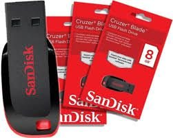 Pen Drive SanDisk 8GB Z50