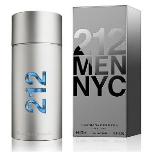 Perfume 212 Men Carolina Herrera Masculino Eau de Parfum 100 Ml