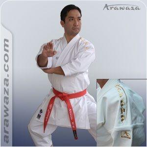 Kimono Arawaza Crystal GOLD WKF APPROVED