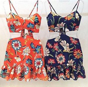 Dress Floral babadinhos
