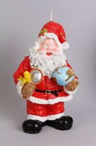 Na - 110 - Vela Papai Noel