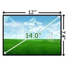 """TELA LED 14"""" HP / COMPAQ / ACER / POSITIVO / ASUS ETC.  INSTALADA"""