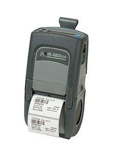 Impressora termica portatil Zebra QL220BT bluetooth com carregador e bateria