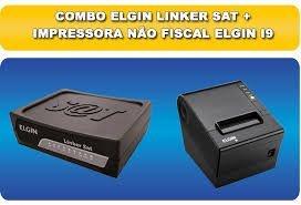 Combo Sat Fiscal Elgin Linker Mais Impressora Termica I9 Usb - Barretos