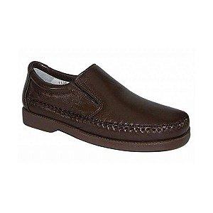 Sapato Casual Confort Marrom Café