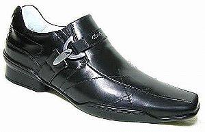 Sapato Casual Masculino Couro Preto