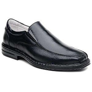 Sapato em Couro Legítimo com Bico Quadrado Ranster