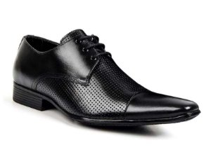 Sapato Social Masculino Preto Bigioni