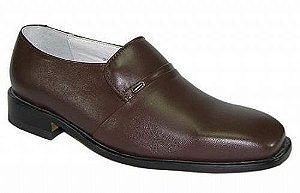 Sapato Social Masculino Couro Marrom Mafisa