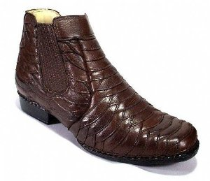 Bota Masculina Couro Escamado Número 36 ao 44 - Alcalay Calçados