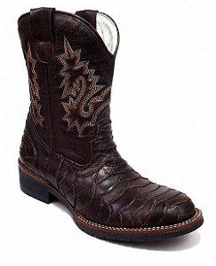 Bota Texana Masculina Escamada Rodeio Boots