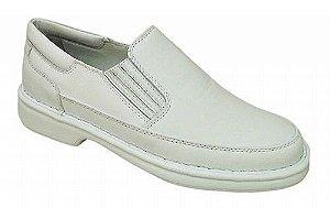 Sapatos Brancos Masculinos Linha RELAX –  Numeração: 36 ao 47