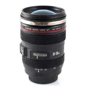 Copo Lente de Câmera Semi-Térmico 450 ml - Caneca Lente