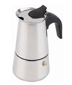 Cafeteira Italiana Aço Inox 9 Doses 450 ml