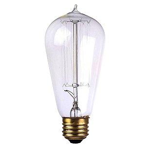 Lâmpada Decorativa Vintage Antique Thomas Edison