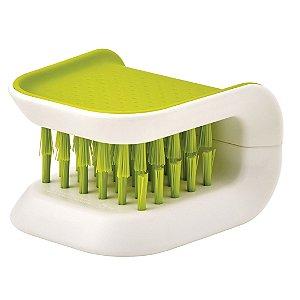 Escova Segura p/ Limpeza de Facas e Talheres