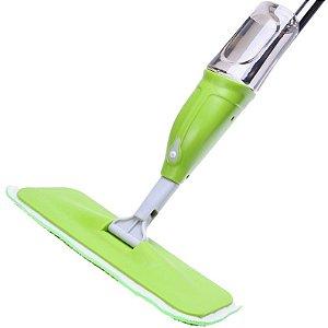 Rodo MOP para Limpeza com Dispenser Spray Borrifador