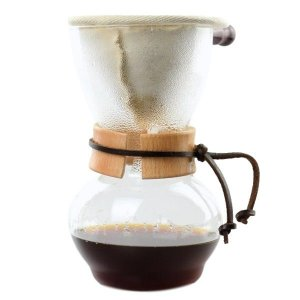 Cafeteira p/ Coado Artesanal em Vidro Super Resistente