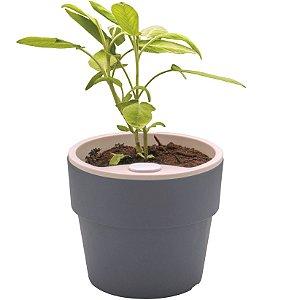 Vaso p/ Plantas Autoirrigável Tamanho Grande 16x16