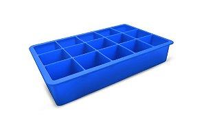 Forma Silicone Gelo Chocolate Cubo 15 cavidades