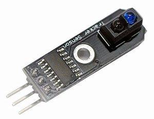 Modulo eletronico seguidor de linha de 1 sensor