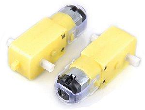 Micro Motoredutor Dc 6v 65 Rpm T DG01D 120:1 (2 pçs)