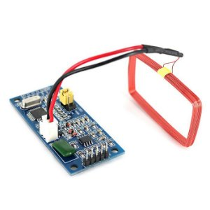 Leitor de Cartão com Antena RFID 125 KHz EM4100
