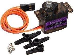 Micro Servo Engrenagem de Metal Tower Pro MG 90S