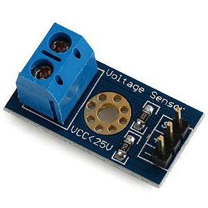 Sensor de Tensão 0-25V DC